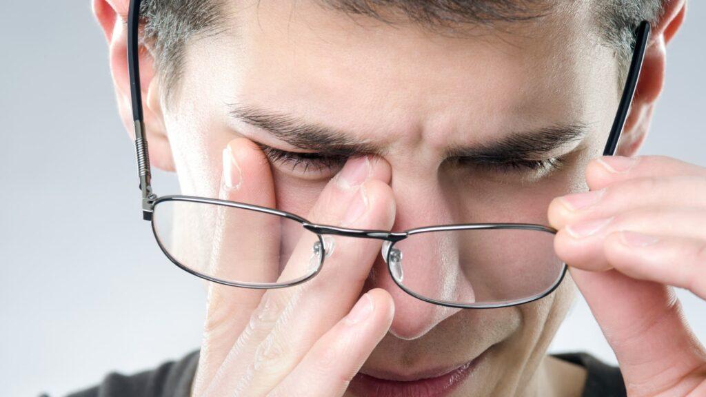 Worsening eyesight